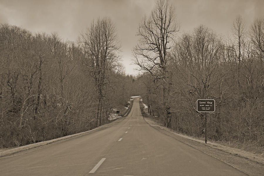 Love Gap Blue Ridge Parkway Photograph