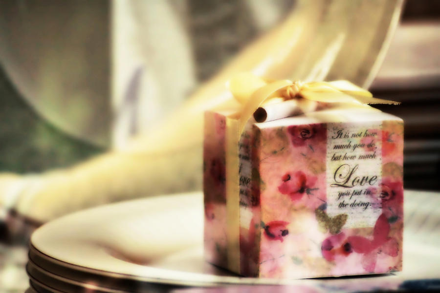 Love Gift Box Photograph