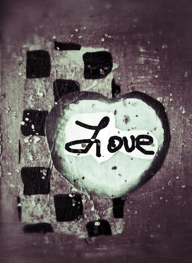 Love Is All You Need Mixed Media  - Love Is All You Need Fine Art Print