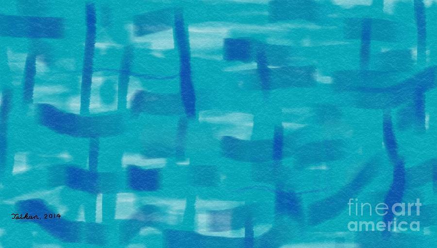 Love Is Blue By Taikan Digital Art