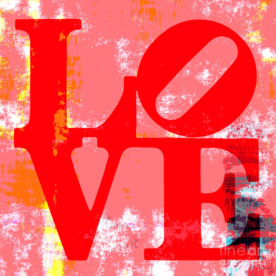 Love Is Love. Mixed Media  - Love Is Love. Fine Art Print