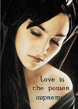 Selfportrait Photograph - Love Is The Power Supreme by The Creative Minds Art and Photography