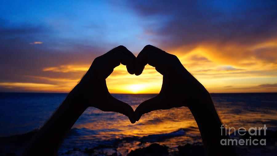 Heart Photograph - Love by Isabelle Kuehn