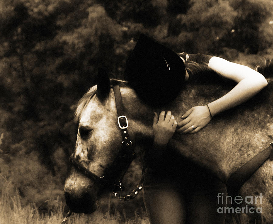 Love Photograph - Love Like A Cowgirl by Steven  Digman