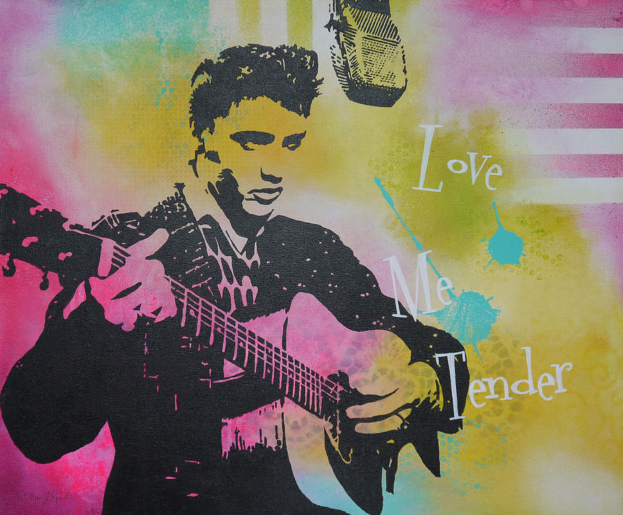 Love Me Tender Painting  - Love Me Tender Fine Art Print