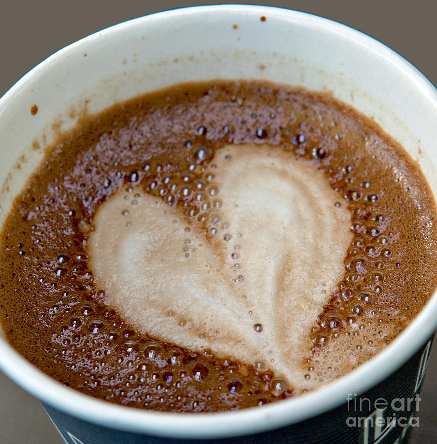Love My Coffee Photograph  - Love My Coffee Fine Art Print