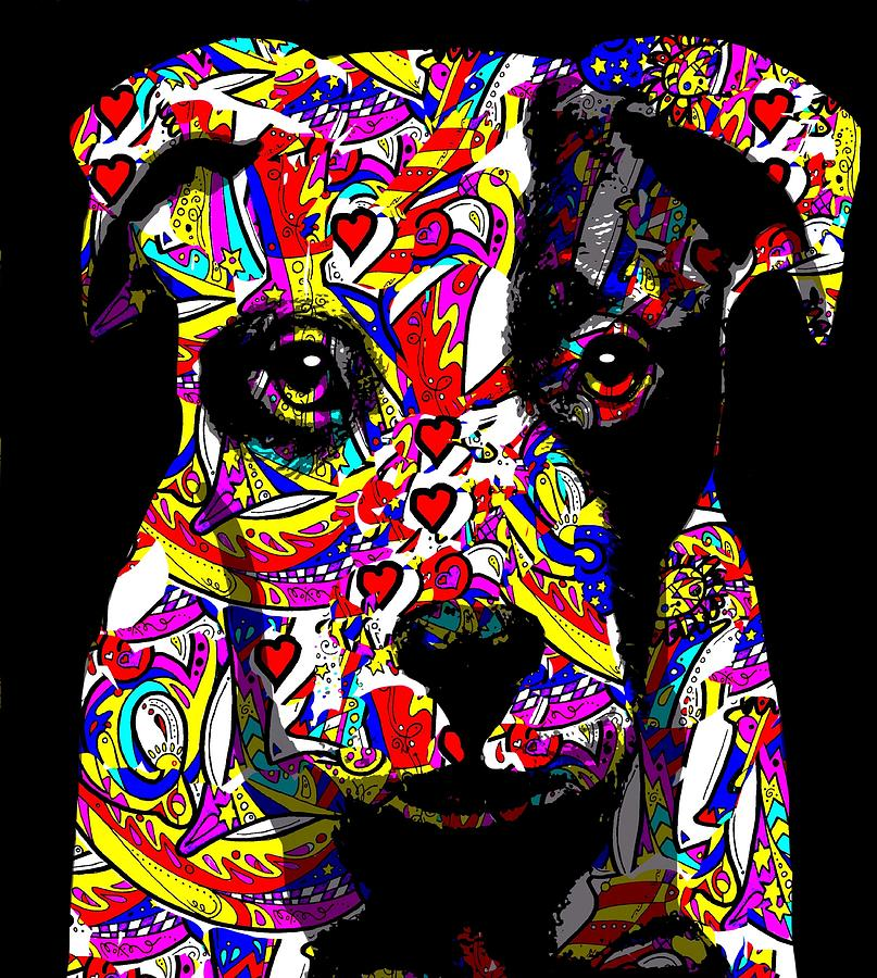Love My Pup Digital Art
