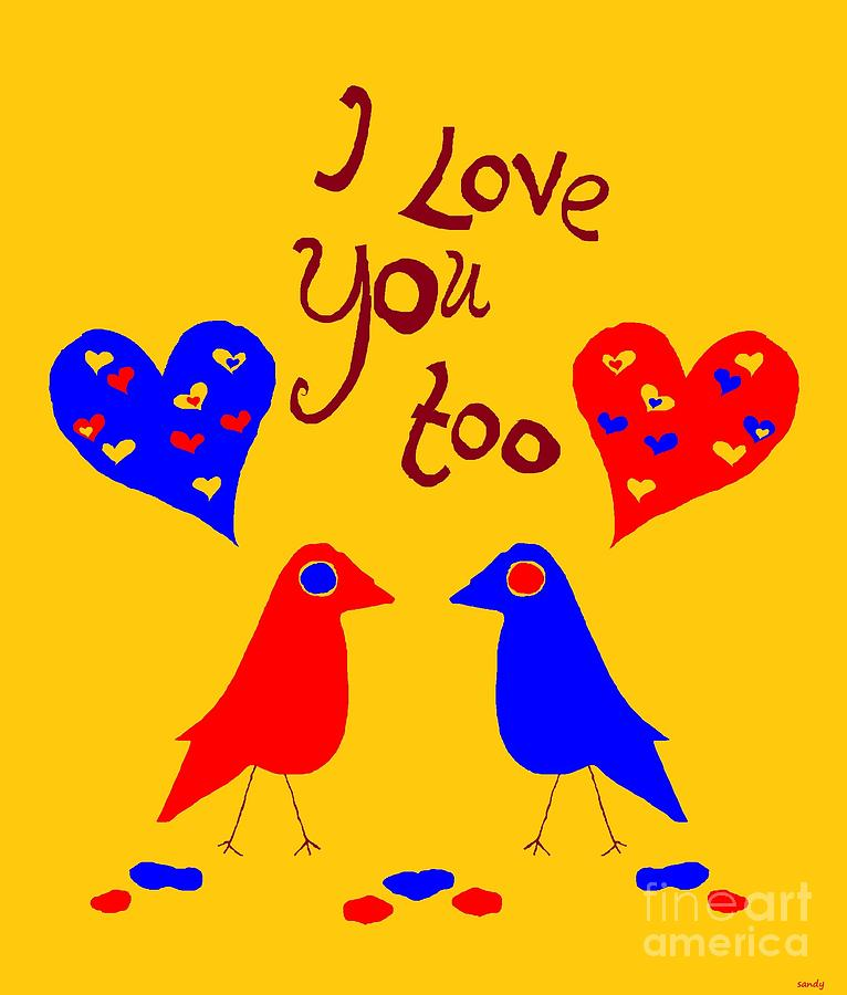 Love Digital Art  - Love Fine Art Print