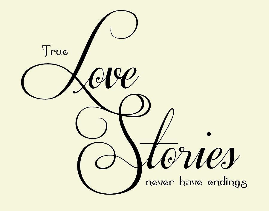 Love  Digital Art - Love Stories by Jaime Friedman