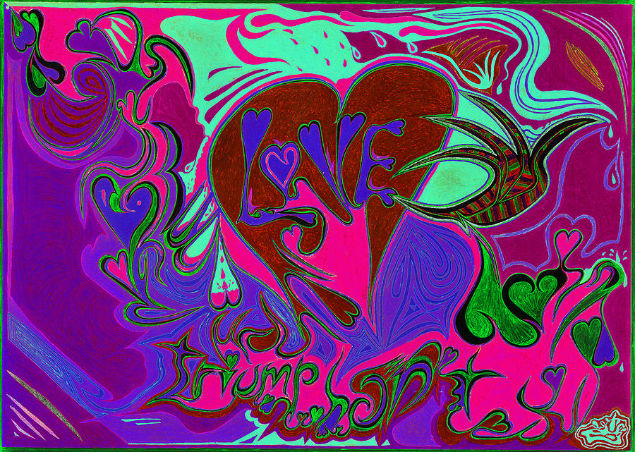 Love Triumphant 3of3 V2 Photograph  - Love Triumphant 3of3 V2 Fine Art Print