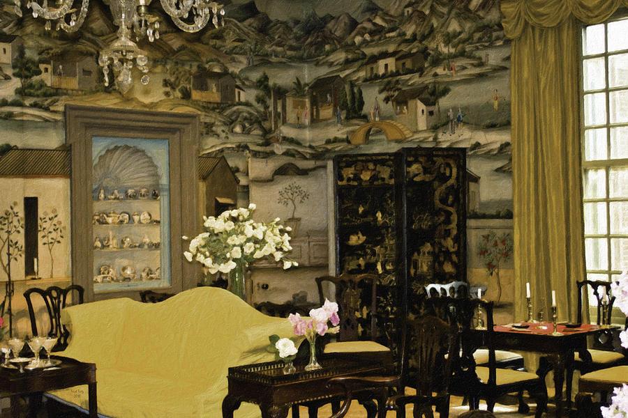 Lovely Room At Winterthur Gardens Mixed Media