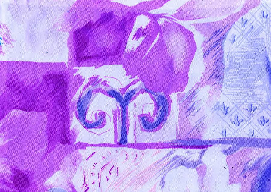 Lover Of Lavender Mixed Media