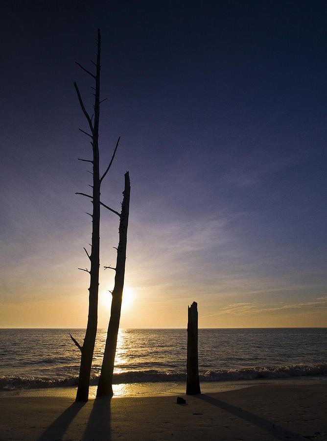 Lovers Key Sunset Photograph