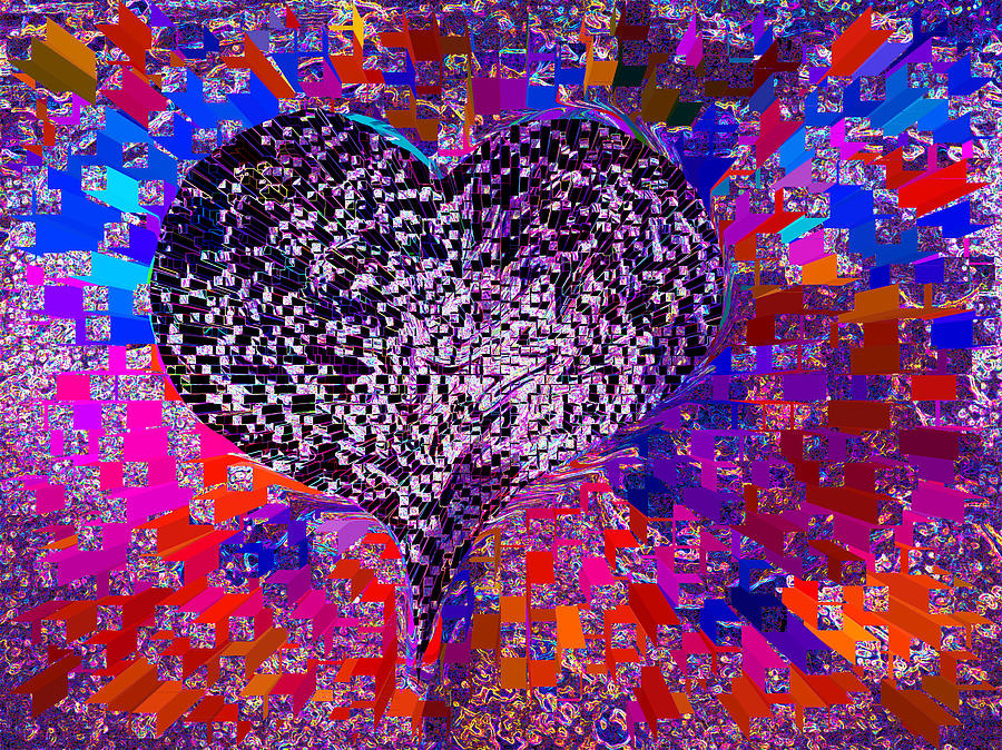💗love's Abyss And All About This Mixed Media - Loves Abyss And All About This by Kenneth James