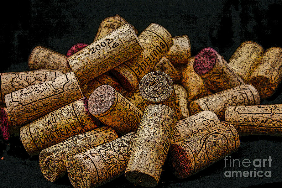 Loving Wine Photograph  - Loving Wine Fine Art Print