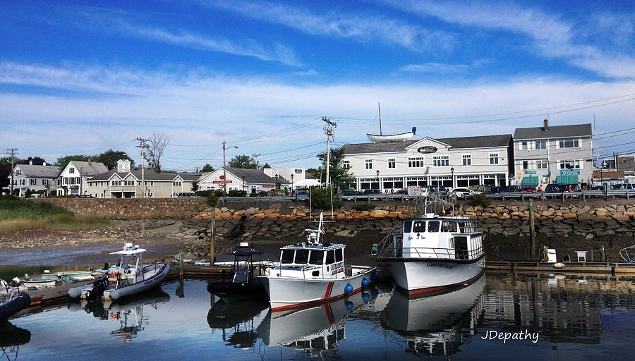 Low Tide Plymouth Ma Photograph By Janet Depathy