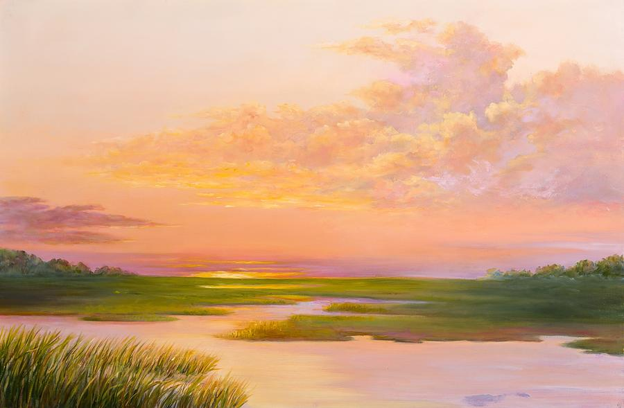 Lowcountry Afternoon Painting By Audrey Mcleod
