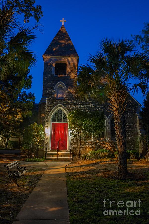 Lowcountry Church Photograph