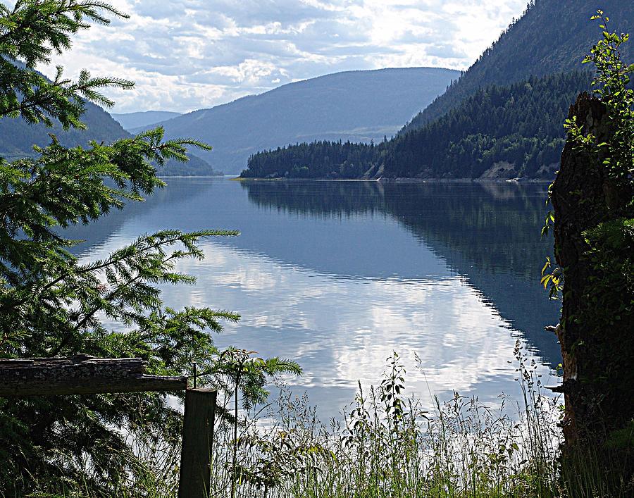 Lower Arrow Lake Mixed Media