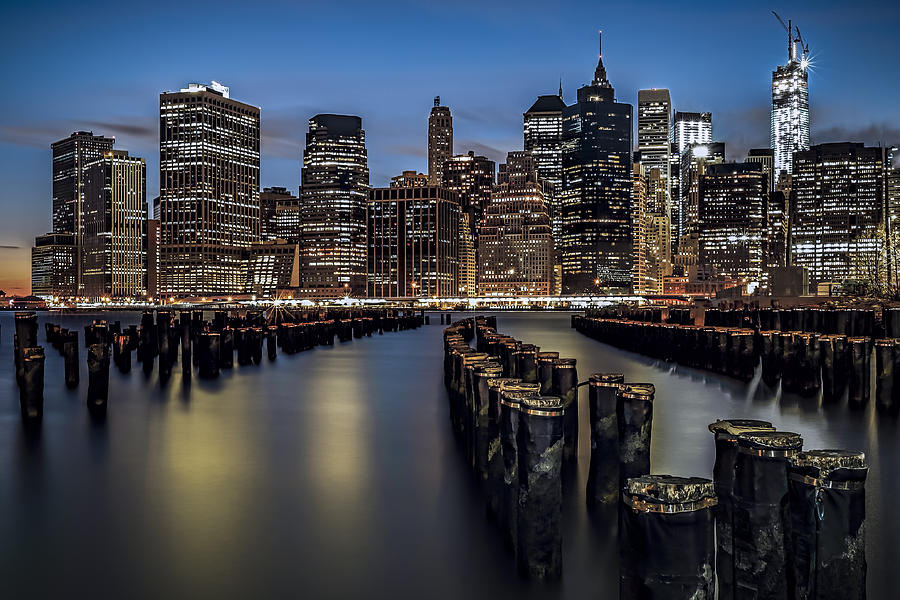 Lower Manhattan Skyline Photograph  - Lower Manhattan Skyline Fine Art Print