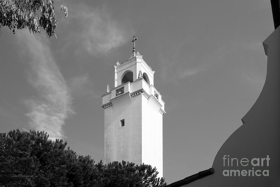 Loyola Marymount University Sacred Heart Chapel Photograph  - Loyola Marymount University Sacred Heart Chapel Fine Art Print