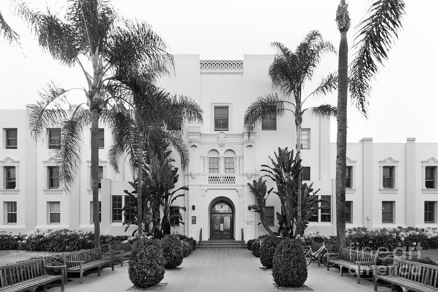 Loyola Marymount University Xavier Hall Photograph