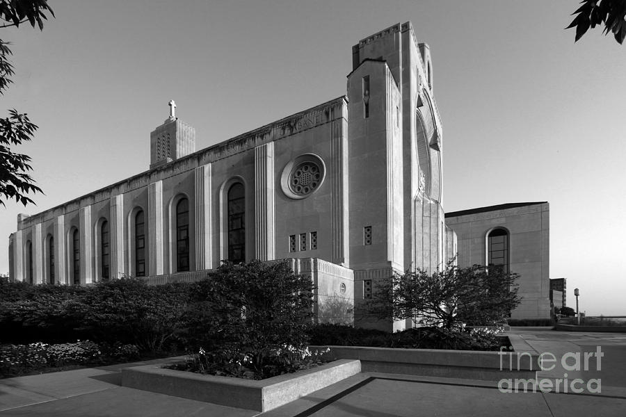 Loyola University Madonna Della Strada Chapel Photograph