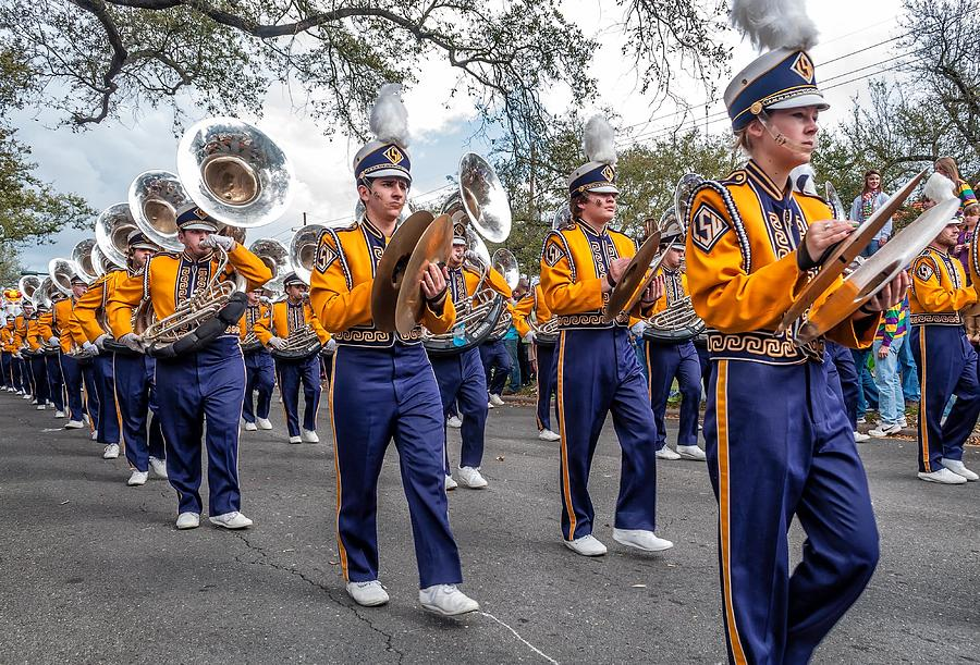 Lsu Tigers Band 2 Photograph  - Lsu Tigers Band 2 Fine Art Print