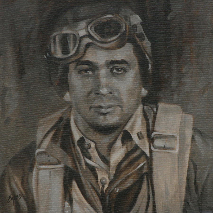 Lt Commandor Joe Gibson Painting