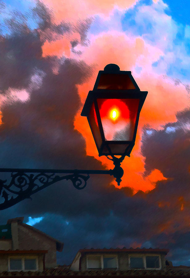 Light Digital Art - Luci Di Roma by Sandro Rossi