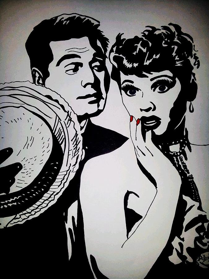 Dark Love Drawings I Love Lucy Drawings - Lucy by