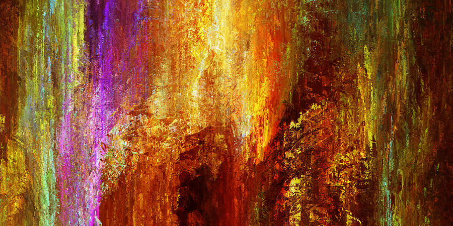 Luminous - Abstract Art Painting  - Luminous - Abstract Art Fine Art Print