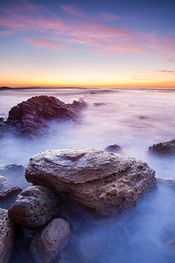 Ocean Photograph - Lunada Mist by Adam Pender