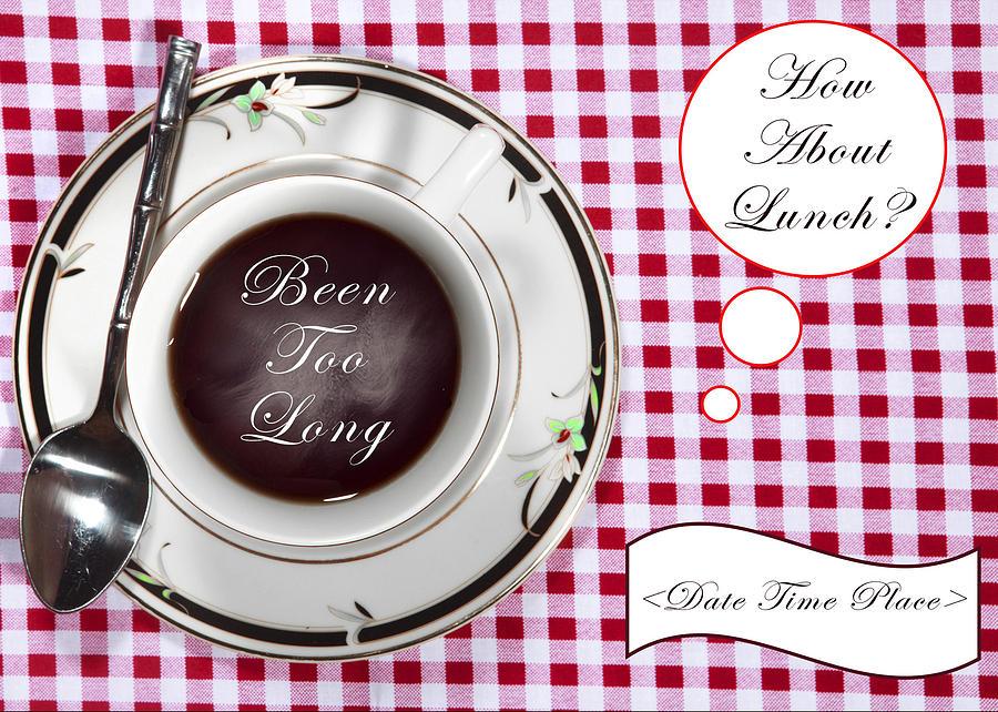 Lunch Invitation Photograph