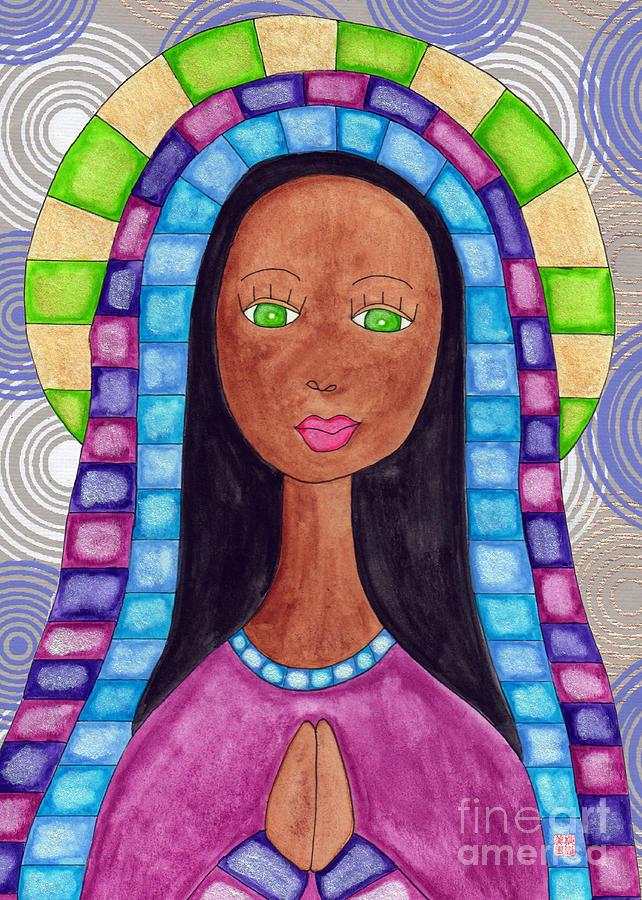 Lupita Aya Sofya Painting