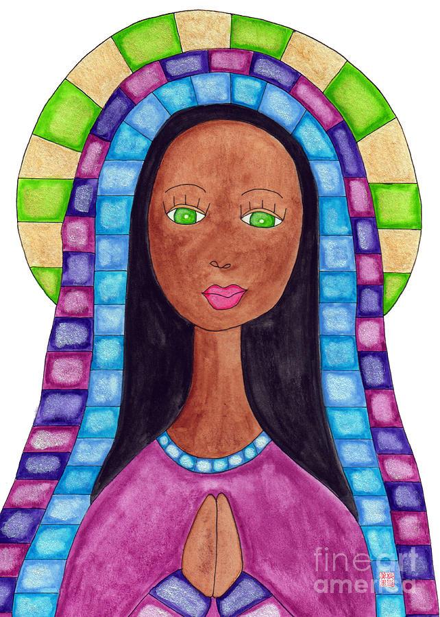 Lupita Portrait Aya Sofya Painting
