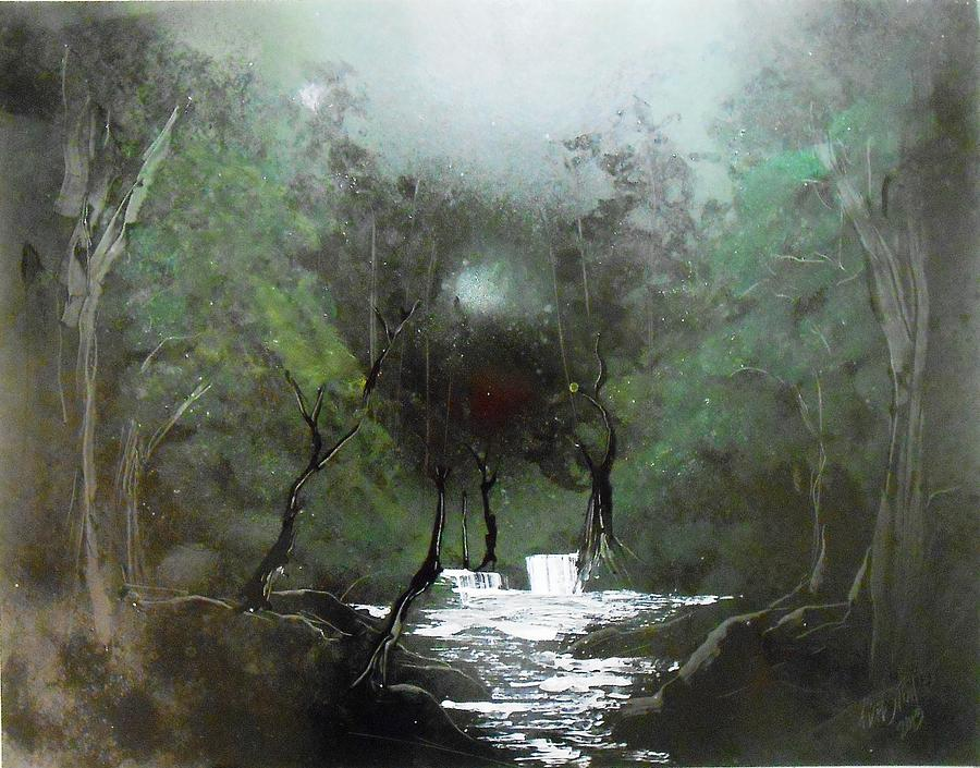 Lush Forest Painting