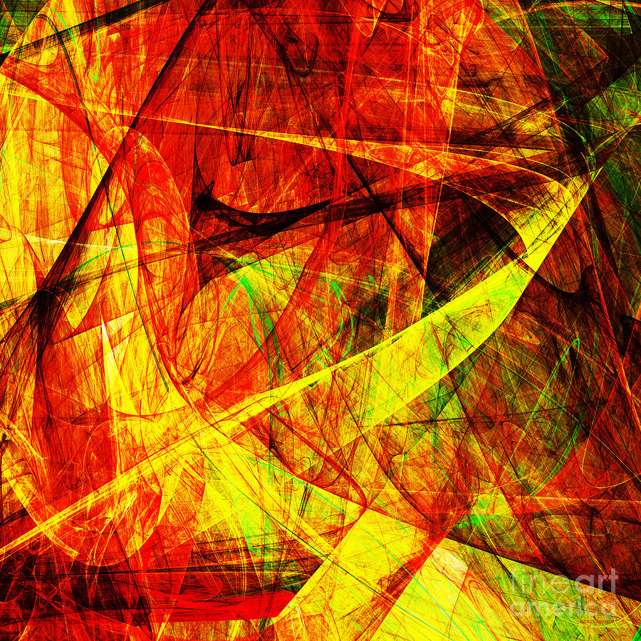 Lust 20130512 Square Digital Art  - Lust 20130512 Square Fine Art Print