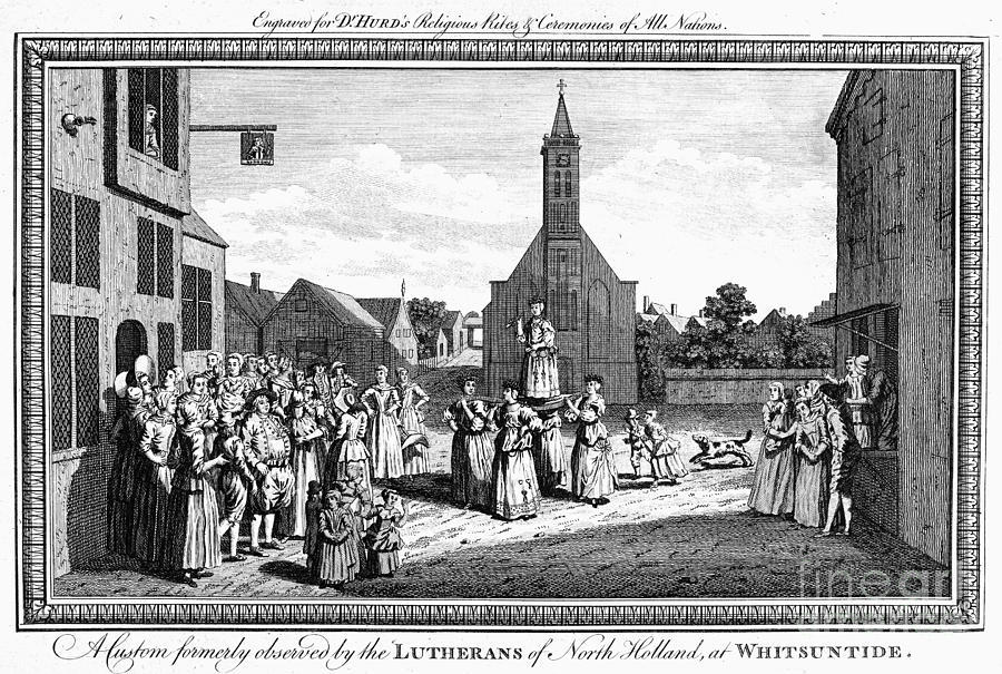 Lutheran Wedding, 1700s is a photograph by Granger which was uploaded ...