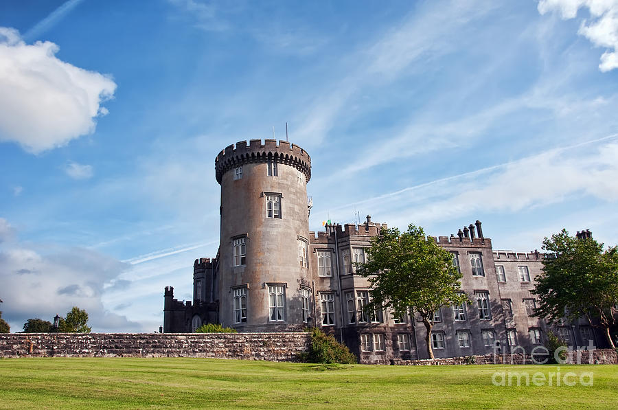 Ancient Photograph - Luxury Dromoland Castle County Clare Ireland by Noel Moore