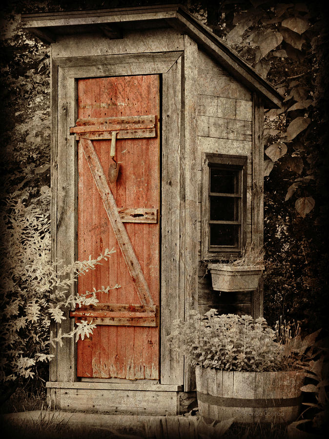 Luxury outhouse photograph by brenda conrad for Photography prints for sale