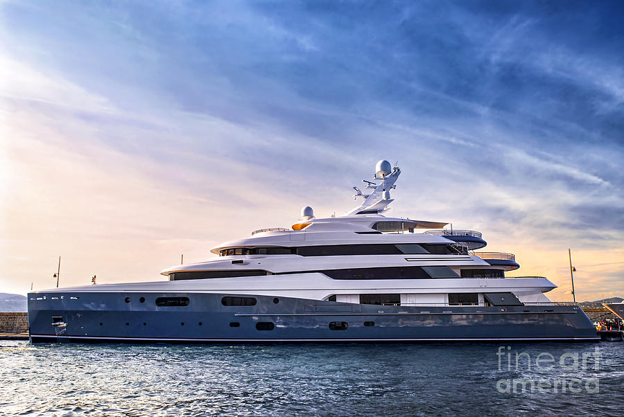 Luxury Yacht Photograph