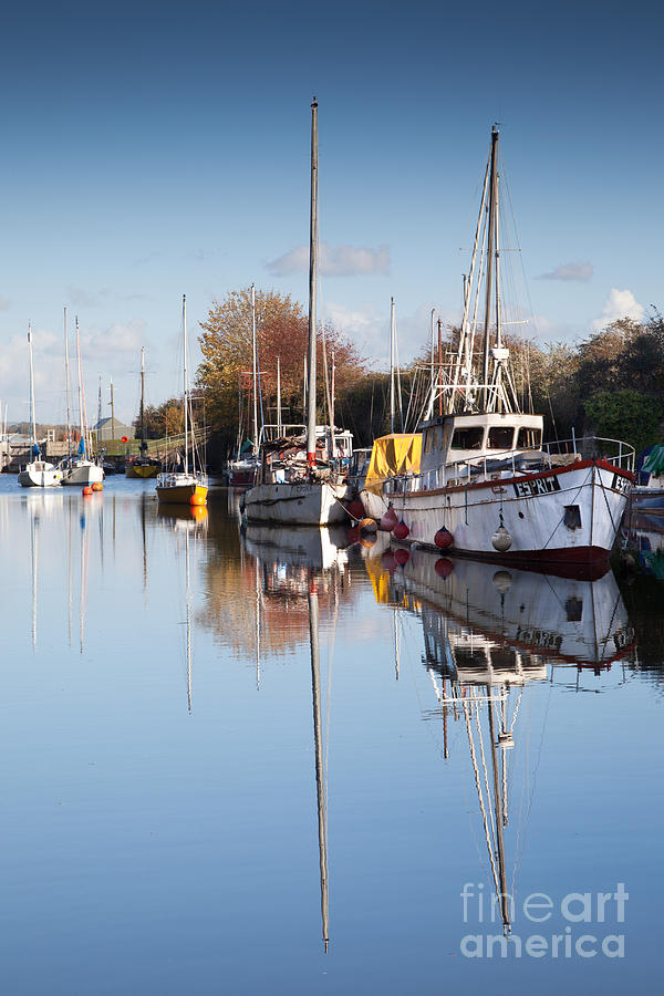 Lydney Harbour Photograph  - Lydney Harbour Fine Art Print