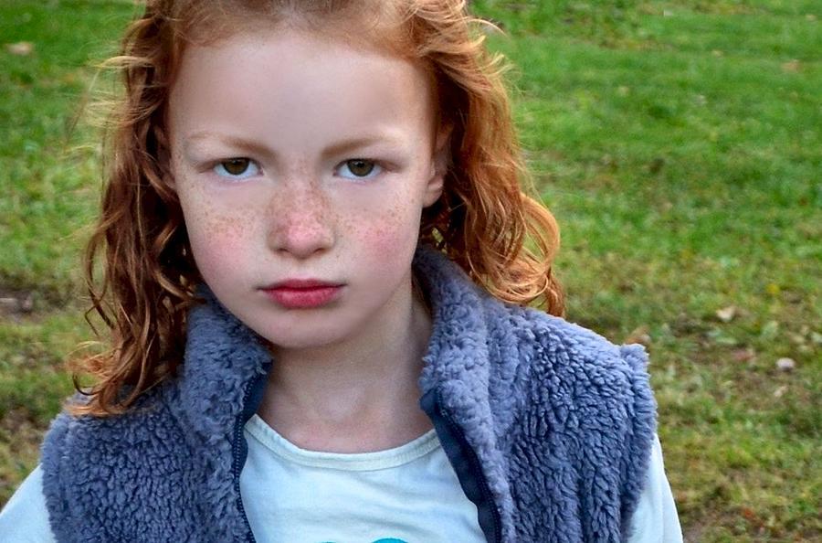 Little Girls Photograph - Lyla by Julie Dant