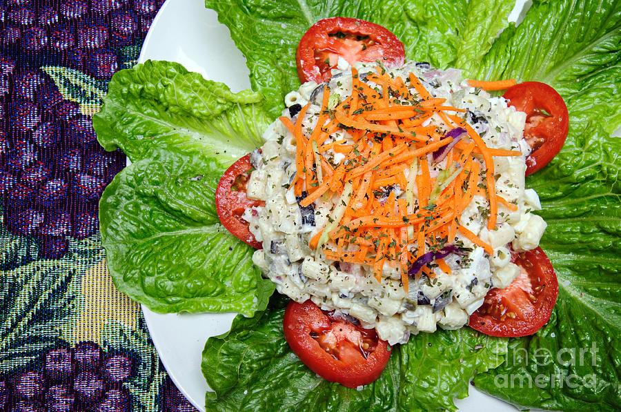 Macaroni Salad 1 Photograph