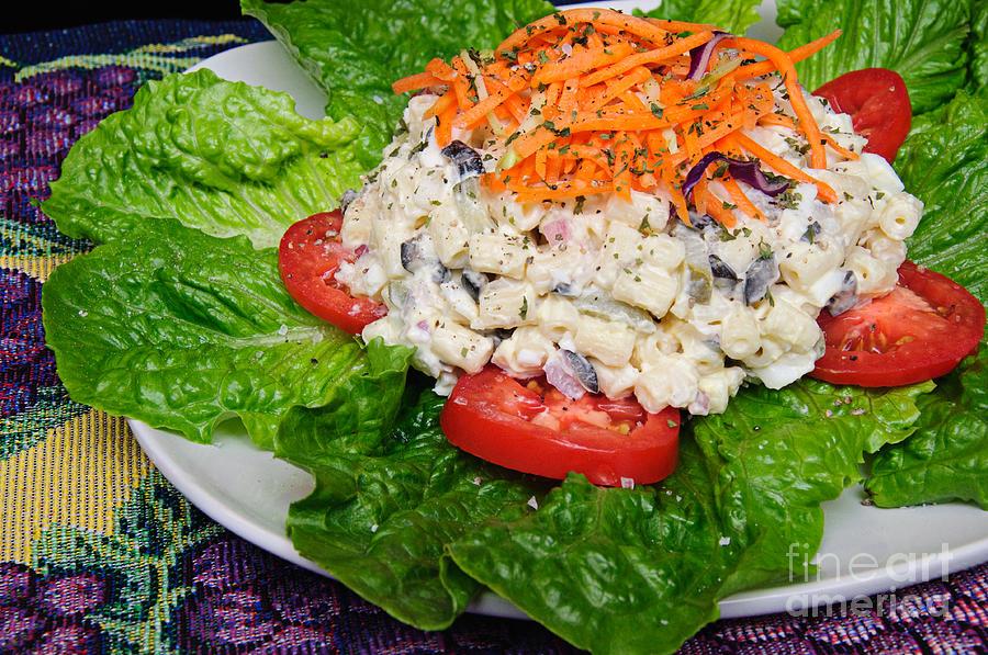 Macaroni Salad 2 Photograph