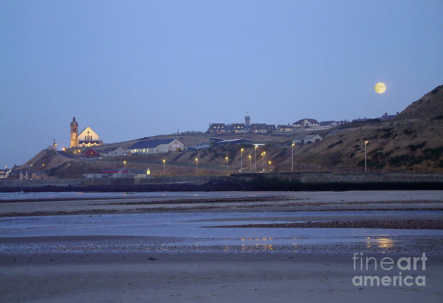 Macduff Moonlight Photograph  - Macduff Moonlight Fine Art Print