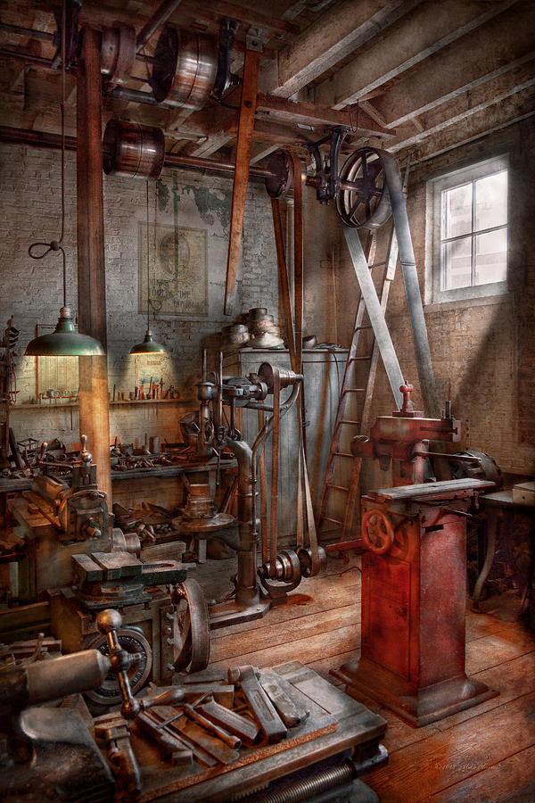 Machinist The Modern Workshop Photograph By Mike Savad