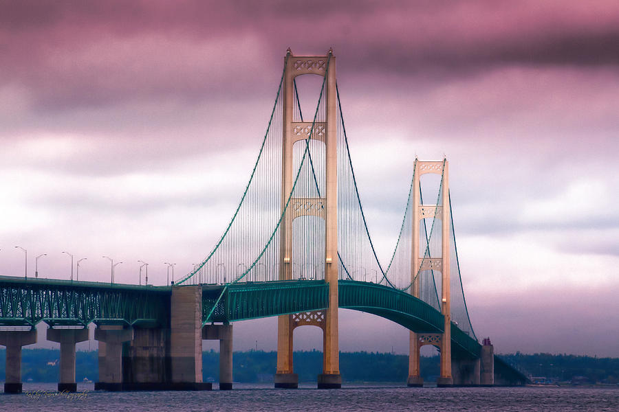 Mackinac Bridge Photograph  - Mackinac Bridge Fine Art Print