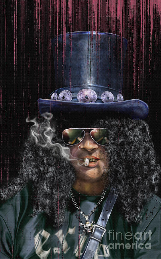 Mad As A Hatter - Slash Painting